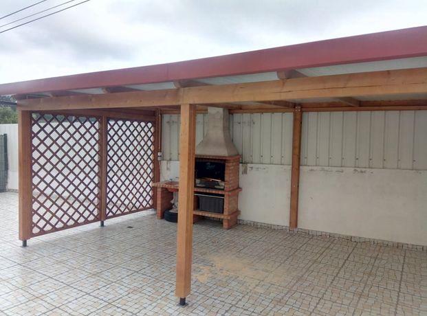 telheiros em madeira madeira&conforto
