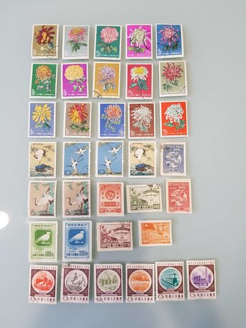 Марки почтовые Китай