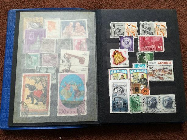 klaser kolekcja znaczki pocztowe poczta polska filatelistyka