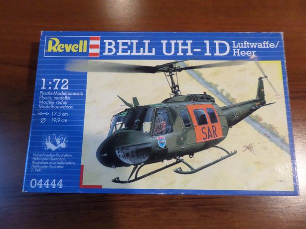 Model Helikoptera BELL UH-1D