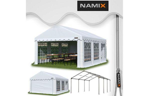 Namiot BASIC 5x5m ogrodowy eventowy imprezowy garażowy PE240g