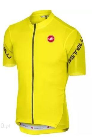 Castelli Entrata 3 Koszulka rowerowa żółta fluo 2019