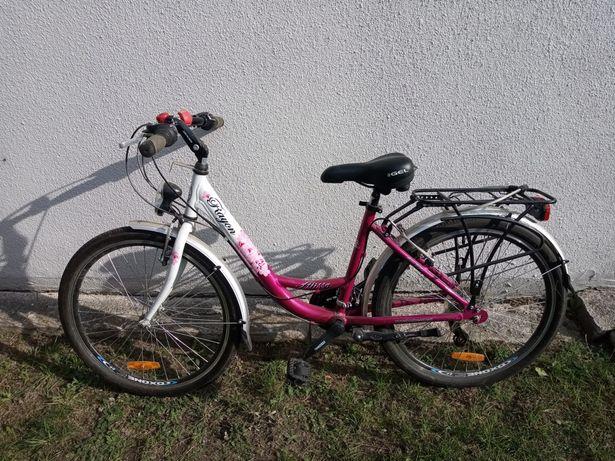 """Rowery dziewczęce 24"""""""