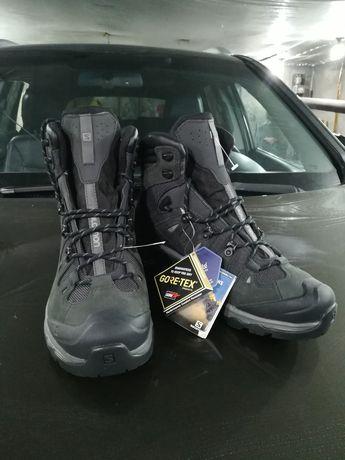 Salamon ботинки  gore-tex зимнии
