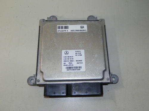 Блок управления двигателя A6519000601 Мерседес W906 Sprinter OM651