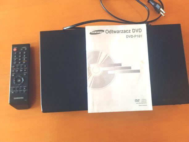 Odtwarzacz DVD Samsung DVD-P181, stan idealny, mało używany