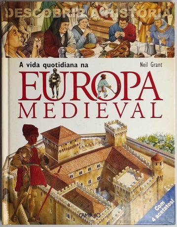 Livro - A Vida Quotidiana na Europa Medieval