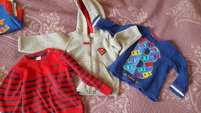 Paka ubrań chłopięcych 86-92