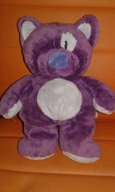 Плюшевый фиолетовый котик