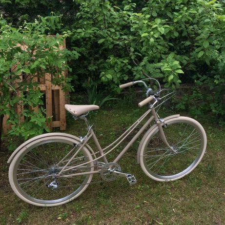 Baluma rower dwuruka Kremowe Marzenie miejski retro