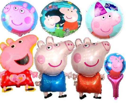 шар фольгированный кулька Свинка Пеппа, Джордж 45 см