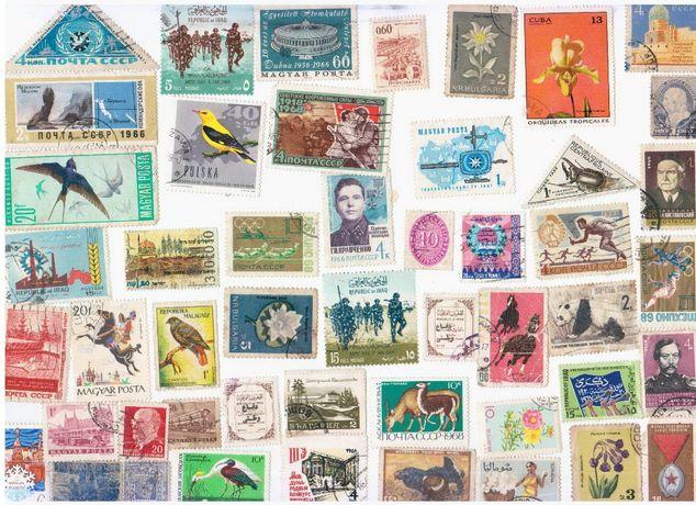 Продам марки гашенные