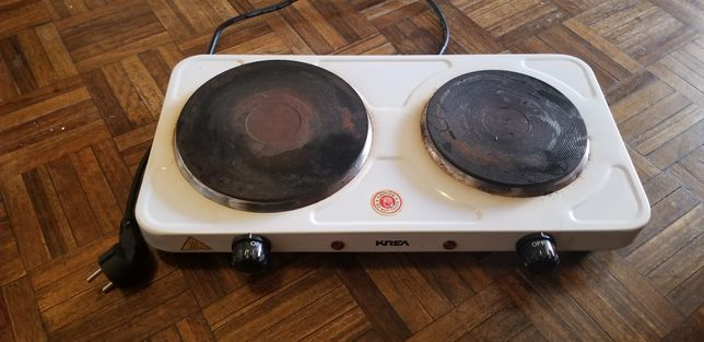 Vendo fogão elétrico com dois discos.