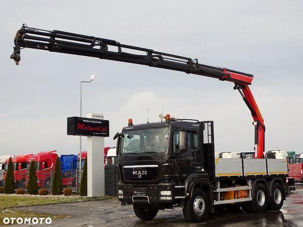 MAN TGS 33.400 / 6x4 / SKRZYNIOWY -5,4 M + HDS PALFINGER 14002 WYSÓW- 17 M !!! / PILOT / ROTATOR /
