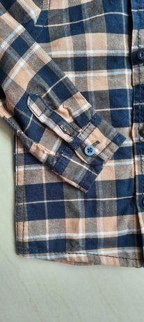 Koszula w kratę r. 80