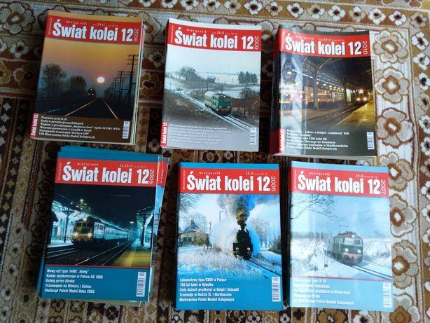 Świat kolei - roczniki, pojedyncze numery