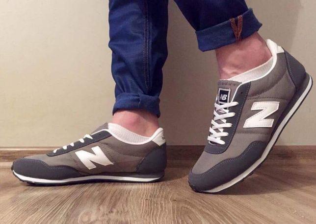 New Balance 410. Rozmiar 41,42,43,44,45,46. Szare- biała N.