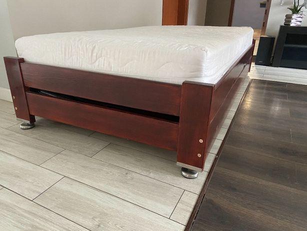 Łóżko sosnowe drewniane stelaż 100x200 MOCNE