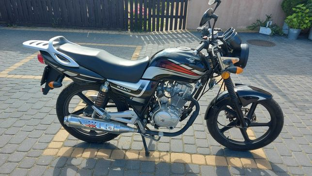 Motocykl Zipp Manic 125