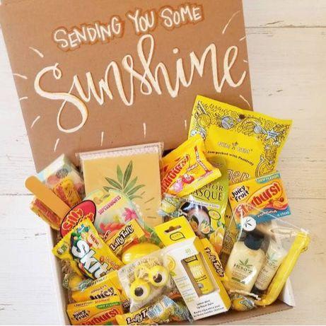 Zestaw prezentowy, upominkowy, słodyczy color box