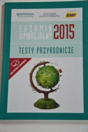 EGZAMIN GIMNAZJALNY 2015 testy 3rodzaje
