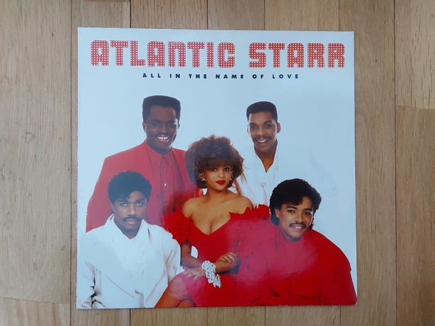Atlantic Starr, All In The Name Of Love, EU, WB, 1987, bdb+