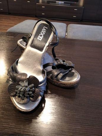 Sandały Lasocki koturna 38 !!!
