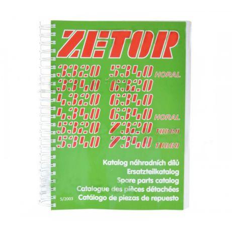 Katalog części Zetor UR1 3320; 7340 Zetor Oryginał