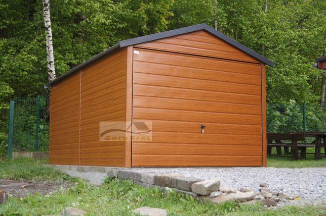 Garaż Blaszany 3x5 Każdy wymiar! 6x5 6x6 7x5 7x6 4x6 3x6 9x6 3x5 6x5,8