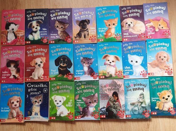 Ksiazki dla dzieci - seria: Zaopiekuj się mną. Holly Webb