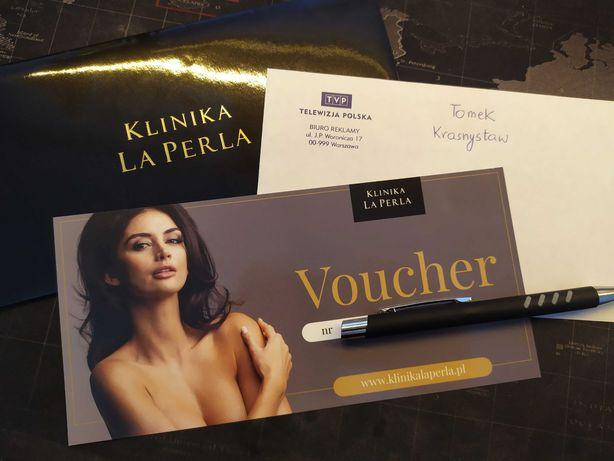 Voucher Karta podarunkowa Klinika La Perla Rzeszów Zabiegi kosmetyczne