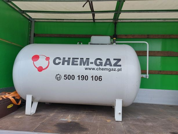 Zbiornik gazowy lpg