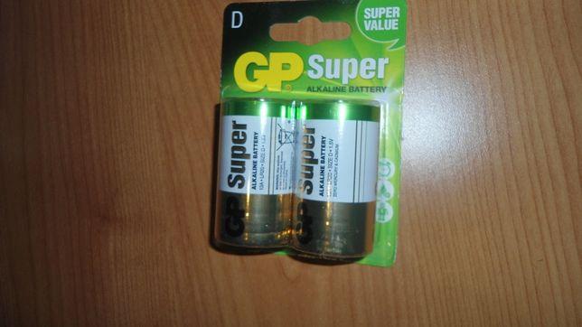 Baterie alkaliczne GP Super LR-20.