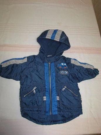 Продам куртку осеннию на мальчика 3-6 месяцев