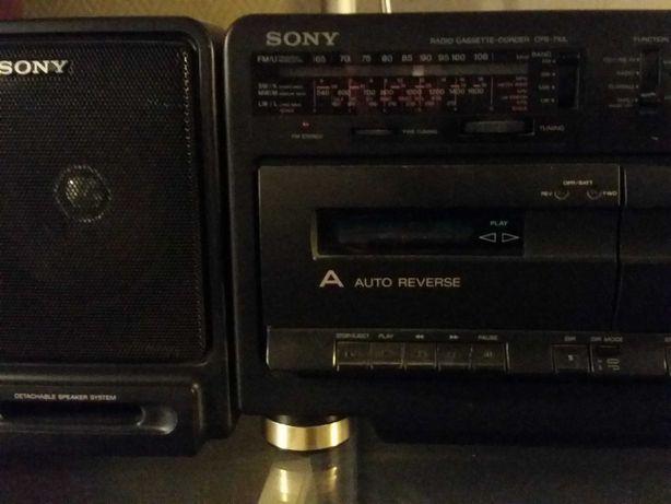 Magnetofon Sony Radiomagnetofon