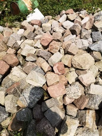Kamień brukowy po rozbiórce