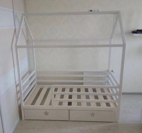 Кровать детская домик детская мебель кровать скандинавский стиль