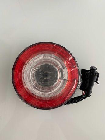 Nowa lampa LED Neon wielofunkcyjna tylna zespolona - przyczepa camper