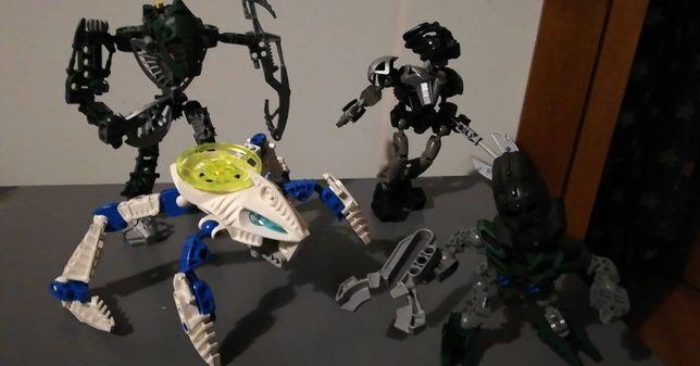 LEGO Bionicle Toa Hordika Matau 8740 , 8566 ,8615