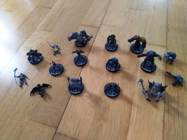 MAGE KNIGHT Lote de 16 Criaturas Bonecos e Figuras (Como Novos)