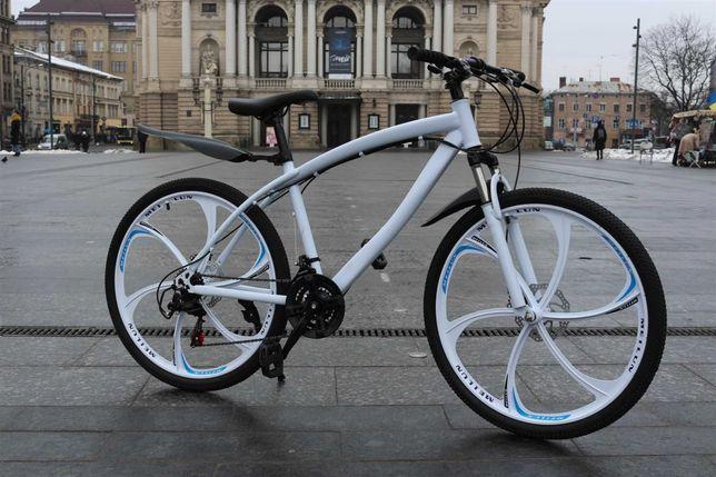 """【СУПЕР ВЫБОР】 Велосипед BLАCK WHIТE BMW нa литыx диckax 26"""" W0055"""