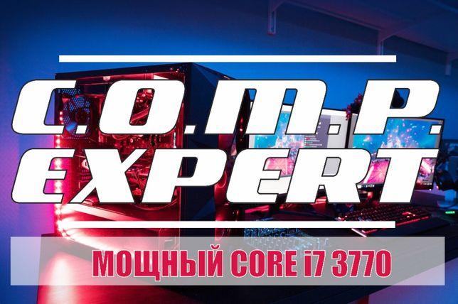 Core i7 3770 системный блок ПК игровой компьютер GTX 1060/1050/1650