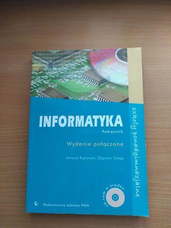 2005 Informatyka podręcznik wydanie połączone Bujnowski Tałaga + CD