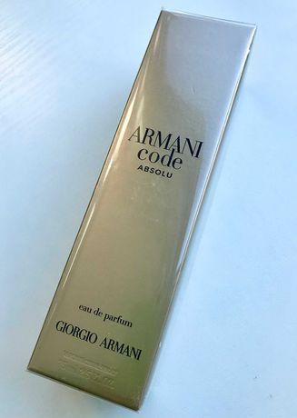Giorgio Armani Code Absolu 75 мл оригинал Армани Код