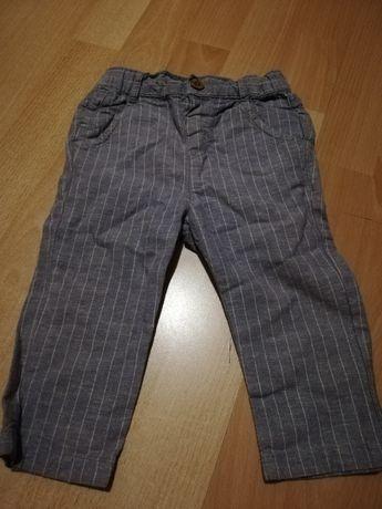 Spodnie w paski 86