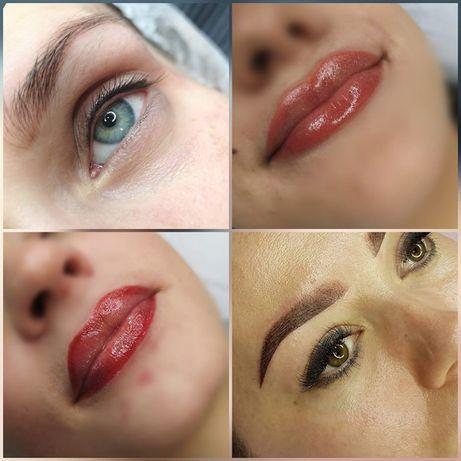 Makijaż Permanentny: BRWI / USTA / KRESKI NA POWIEKACH