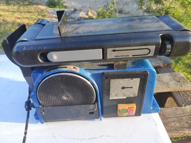 Szlifierka tarczowo-taśmowa Scheppach BTS 900
