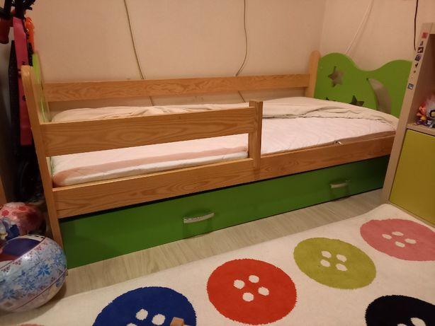 sprzedam łóżko dziecięce 80cm/160cm