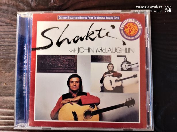 Sprzedam CD Shakti With John McLaughlin