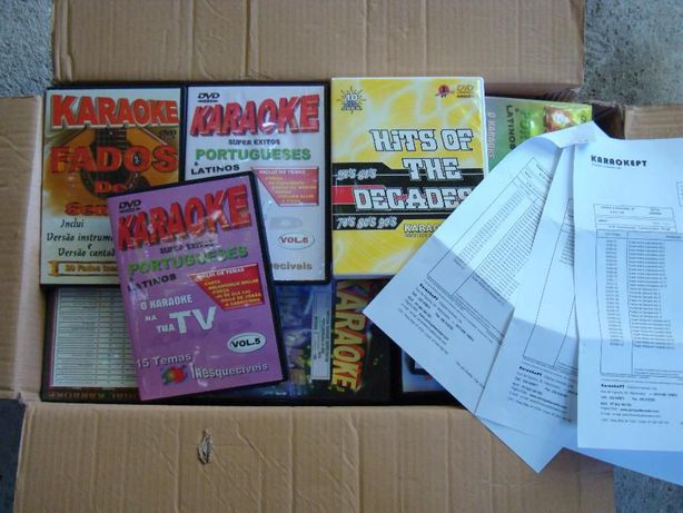 Karaoke, Pack 45 dvds da Midiarte